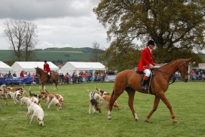 The Fife Hunt at the Fife Show, Kinloss Estate